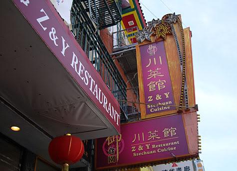 Z & Y Restaurant in Chinatown></center> <div class=